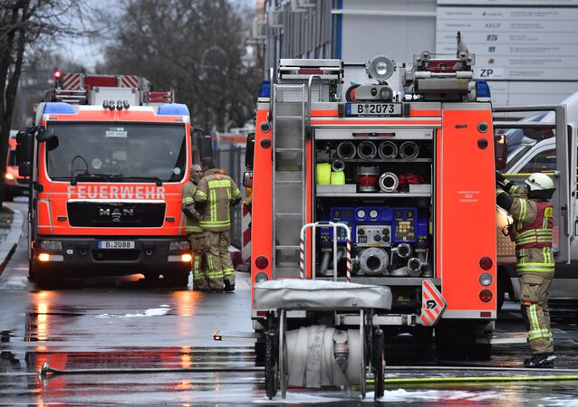 Firefighters in Germany (File)