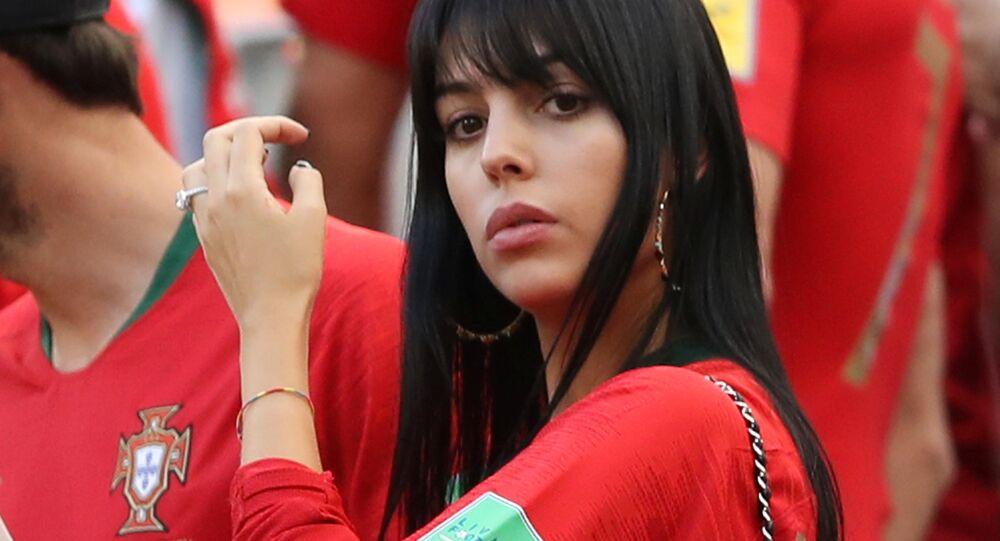 World Cup - Group B - Portugal vs Morocco - Luzhniki Stadium, Moscow, Russia - June 20, 2018 Georgina Rodriguez, girlfriend of Portugal's Cristiano Ronaldo, after the match