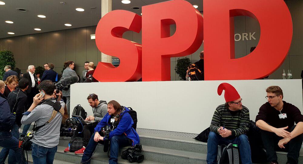 SPD-Parteitag in Bonn