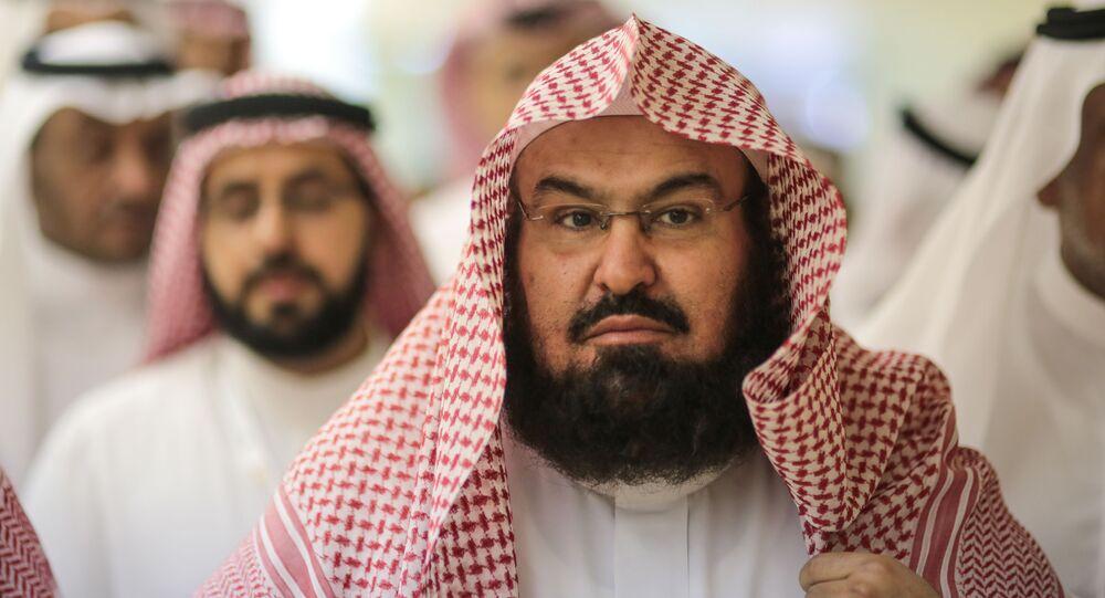 Sheikh Abdul Rahman Al Sudais, the imam of the Grand Mosque in Mecca (File)