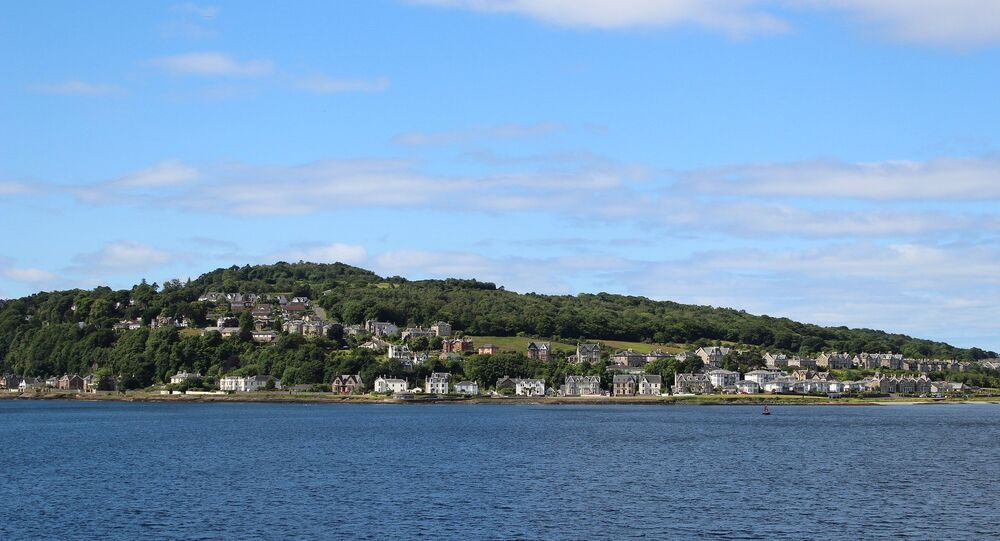 The island of Bute, off the west coast of Scotland, where Alesha McPhail was murdered