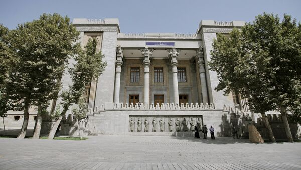 Iranian Foreign Ministry - Sputnik International