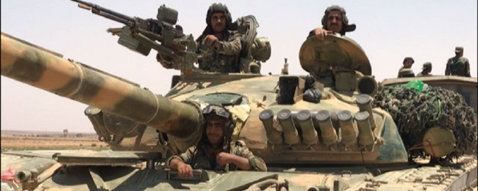 The Syrian Army in Daraa Province on the border with Jordan - Sputnik International, 1920, 31.08.2021