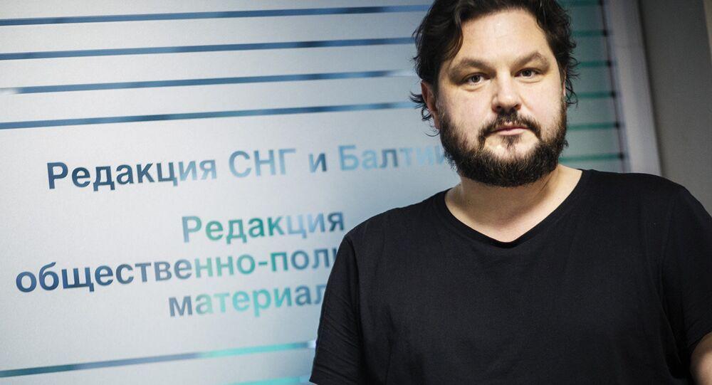 Head of Sputnik Latvia Valentins Rozencovs
