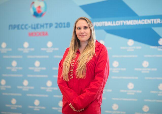 Julia Ivanova, FIFA 2018 World Cup volunteer From the United States