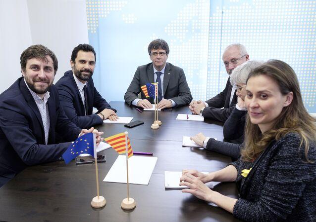 Carles Puigdemont in Brussels