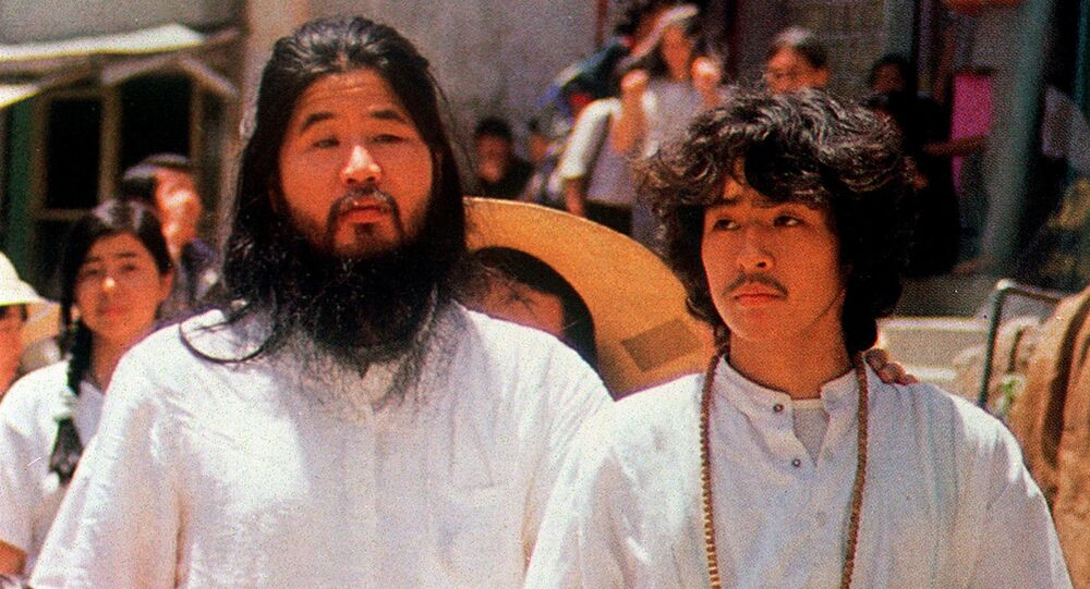 Chizuo Matsumoto, the former leader of the Japanese doomsday cult Aum Shinrikyo