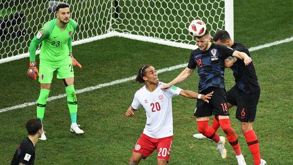 2018 FIFA World Cup Croatia - Denmark, Round of 16 - Sputnik International