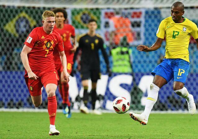 2018 FIFA World Cup, Quarterfinals, Brazil - Belgium, Belgium Midfielder Kevin De Bruyne