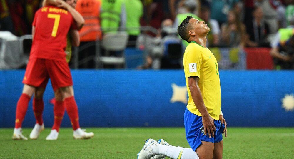 2018 FIFA World Cup, Quarterfinals, Brazil - Belgium