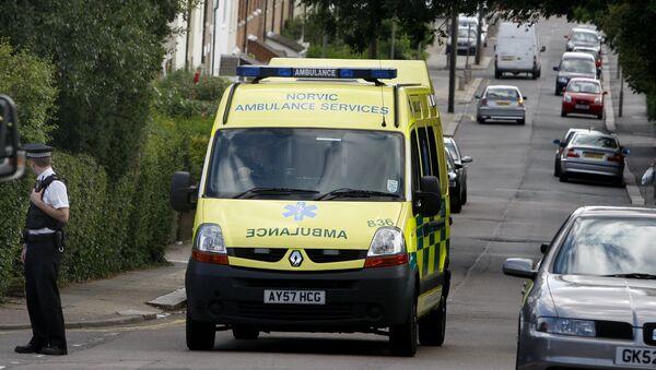 Ambulance in UK (File) - Sputnik International