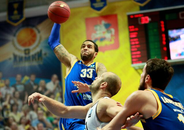 US basketball player Tyler Honeycutt