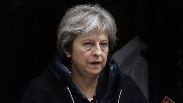 Theresa May, primera ministra del Reino Unido - Sputnik International