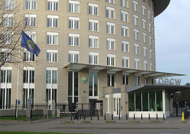 The Organization for the Prohibition of Chemical Weapons (OPCW)  headquaters