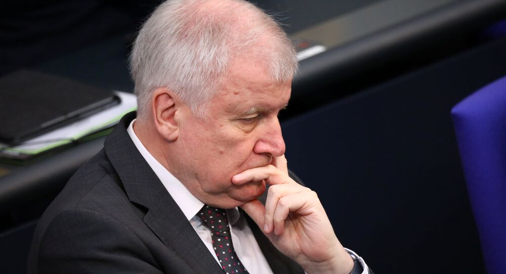 Interior Minister Horst Seehofer attends a budget debate at the lower house of parliament Bundestag in Berlin, Germany, July 4, 2018