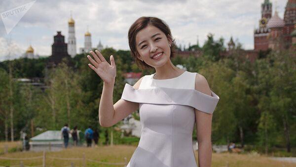 Chinese TV anchor Yang Mimgming - Sputnik International