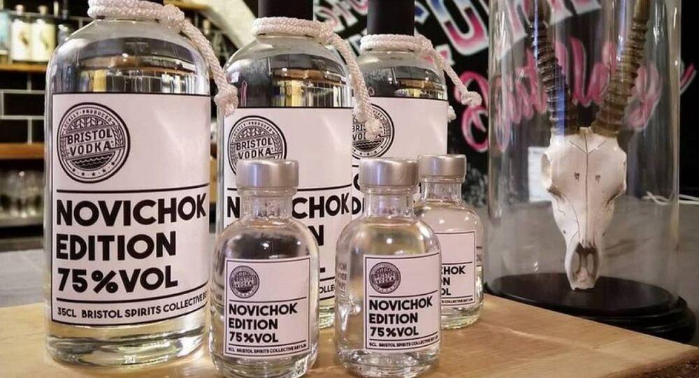 Bristol vodka Novichok
