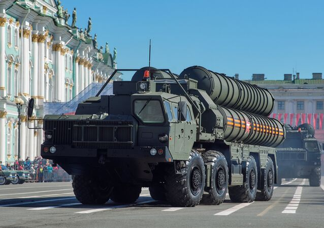 Russia's S-400 missile system. File photo