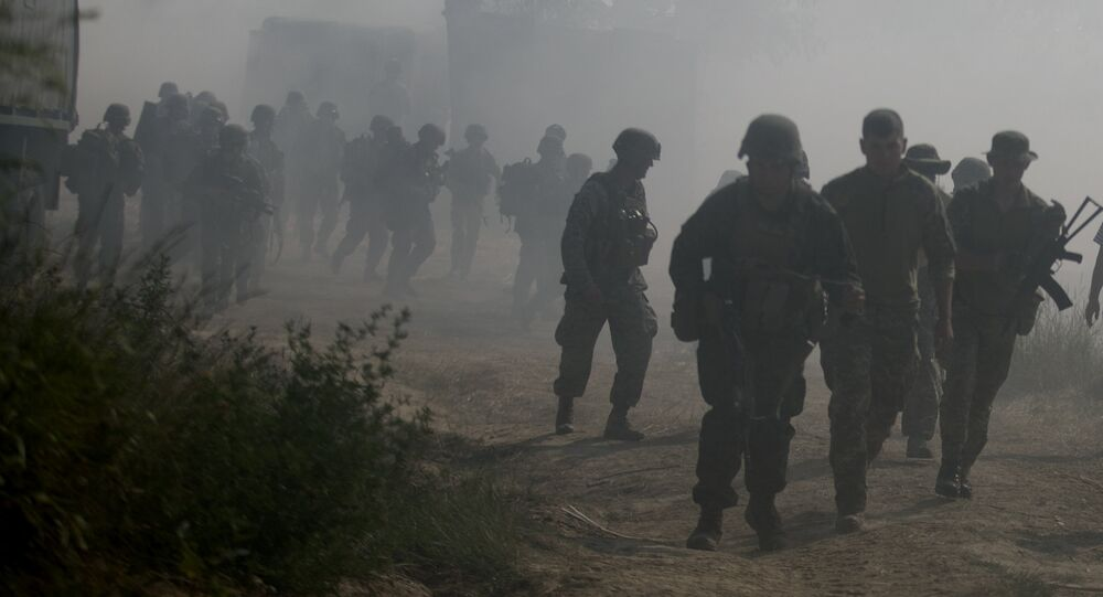 U.S. Marines participating in exercise Sea Breeze