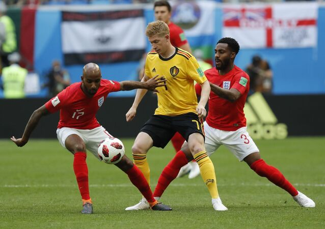 Soccer Football - World Cup - Third Place Play Off - Belgium v England - Saint Petersburg Stadium, Saint Petersburg, Russia - July 14, 2018