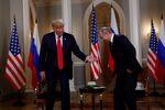 U.S. President Donald Trump meets with Russia's President Vladimir Putin in Helsinki, Finland, July 16, 2018