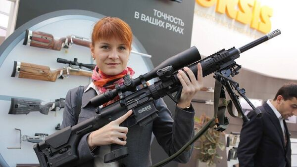 Russian student Mariia Butina was arrested on July 16 over allegations she failed to register as a foreign agent. - Sputnik International
