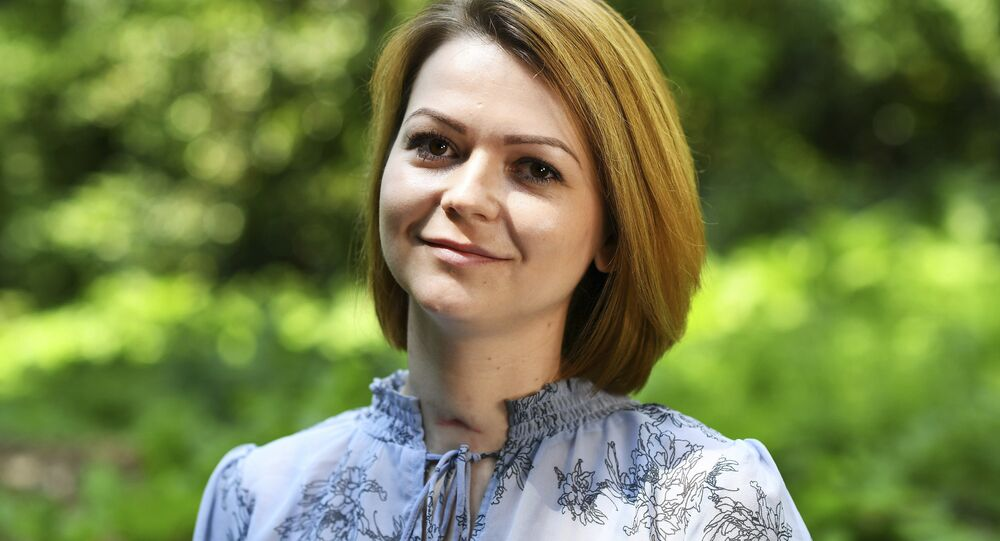 Yulia Skripal during an interview in London, Wednesday May 23, 2018