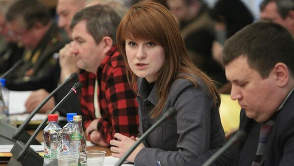 Russian activist Mariia Butina was arrested Sunday, July 15 by the FBI on charges of being an unregistered agent. - Sputnik International