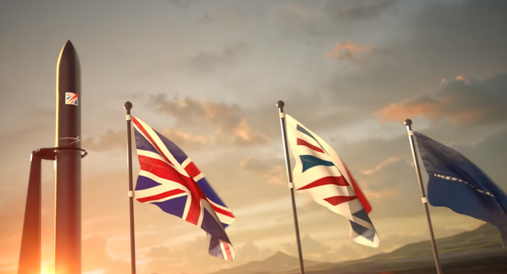 Illustration of UK's spaceport as depicted in video by Lockheed Martin