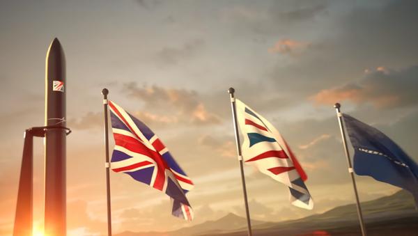 Illustration of UK's spaceport as depicted in video by Lockheed Martin - Sputnik International