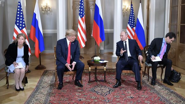 Meeting of US President Donald Trump and Russian President Vladimir Putin in Helsinki - Sputnik International