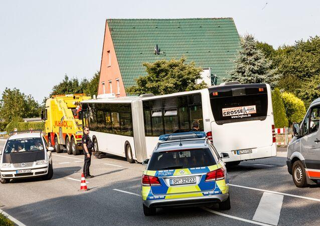 Messeattacke in Lübeck