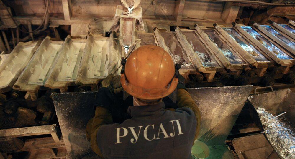 Aluminum giant Rusal, Sayanogorsk, Russia
