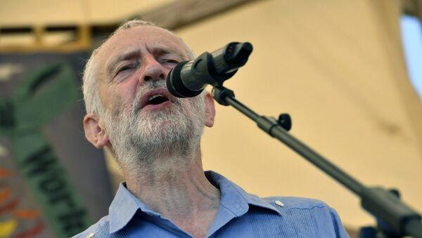 Britain's opposition Labour Party leader Jeremy Corbyn (File) - Sputnik International