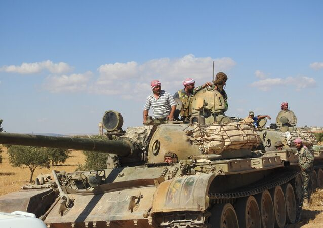 Preparations for operations in Idlib.