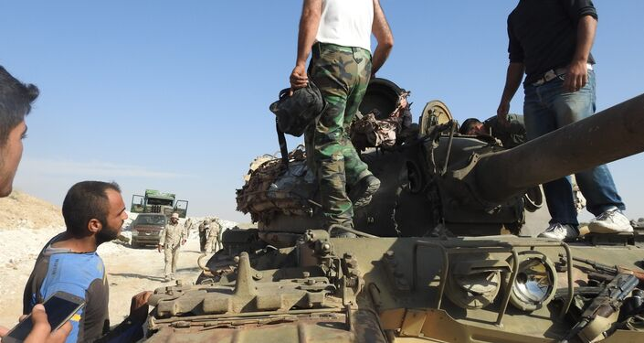 Syrian forces prepare for operations in Idlib province.