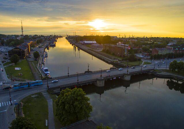 Liepaja, Latvia. File photo.