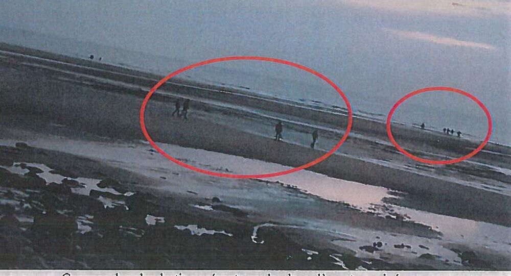 Albanian migrants were spotted on the beach near Calais but it was up to Operation Sugate to discover why they were never picked up