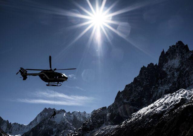 Un hélicoptère