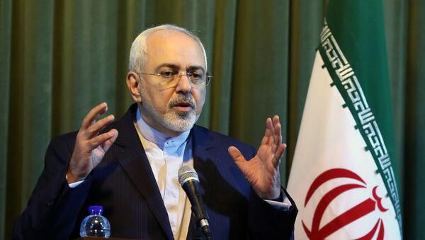 Mohammad Javad Zarif, ministre iranien des Affaires étrangères - Sputnik International