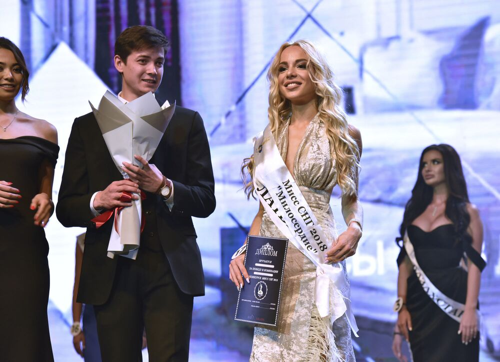 Beauties Compete for Golden Crown of Miss CIS 2018