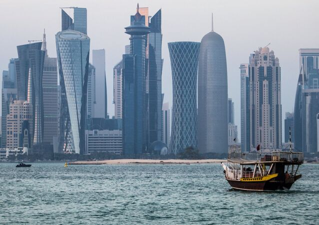 The district of West Bay, Doha. File photo
