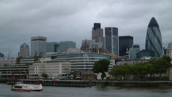 Modern-age buildings in the business area of London city. - Sputnik International