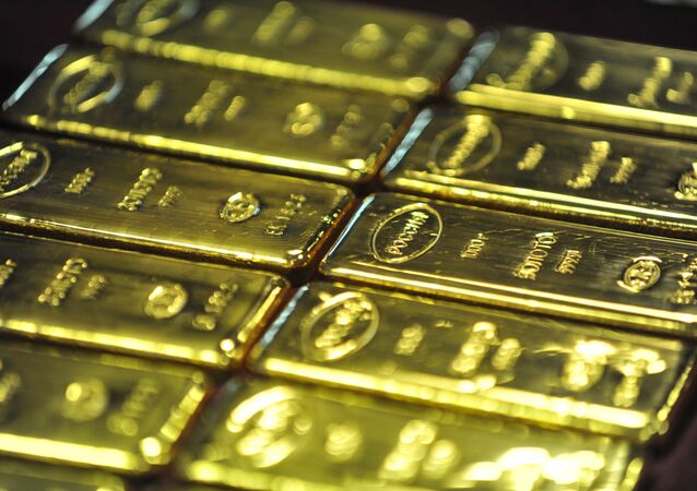 Produktion der Goldbarren in Russland (Archiv)