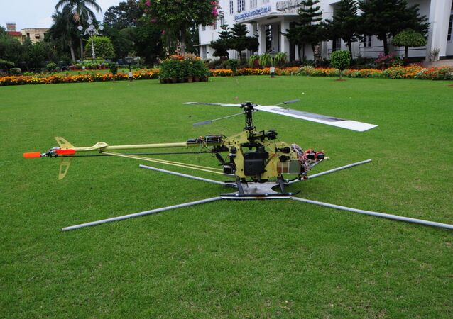 10-kg Rotary Wing (Helicopter) Unmanned Aerial Vehicles (RUAV)