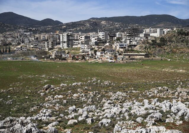 A view of the town of Masyaf in Hama province, in Syria (File)