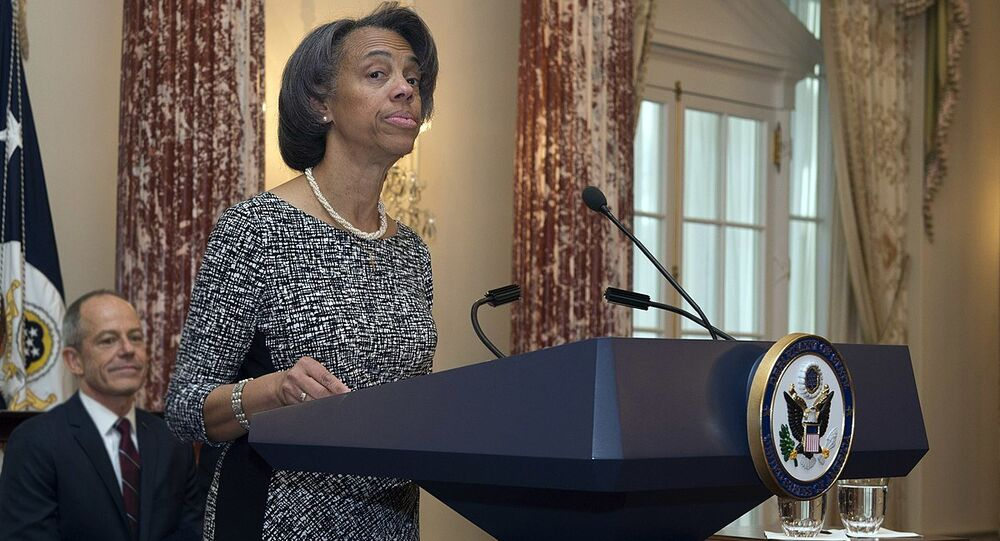 U.S. Ambassador to Bangladesh Marcia Bernicat (File)