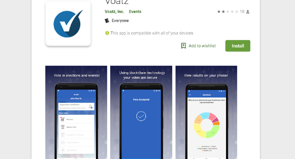 The Voatz app will allow some West Virginian overseas voters to cast their ballot from their smartphones.
