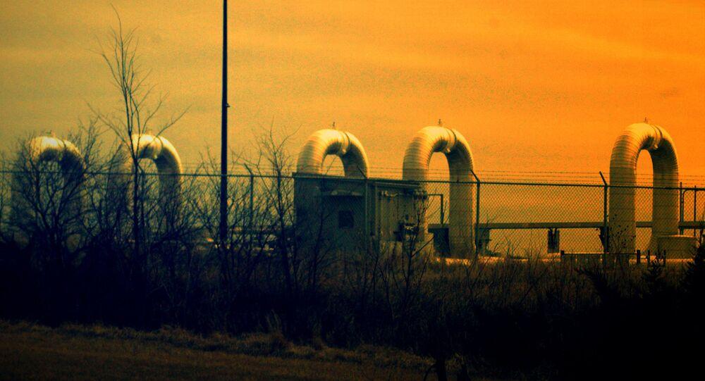Trans Canada Keystone Oil Pipeline