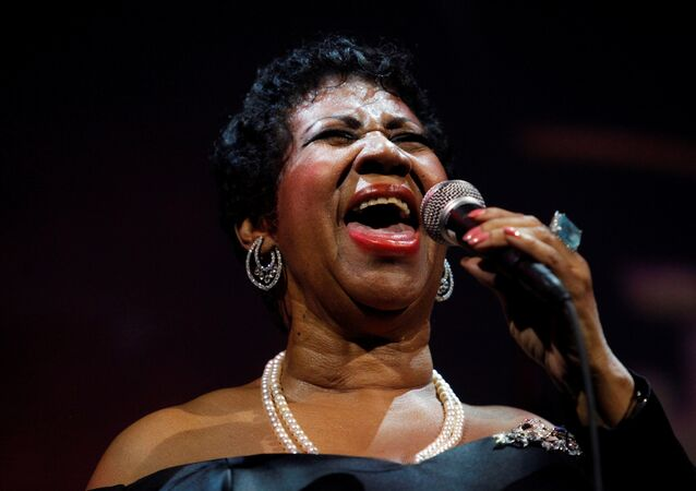 FILE PHOTO - Singer Aretha Franklin performs at the Candie's Foundation 10th anniversary Event to Prevent benefit New York May 3, 2011